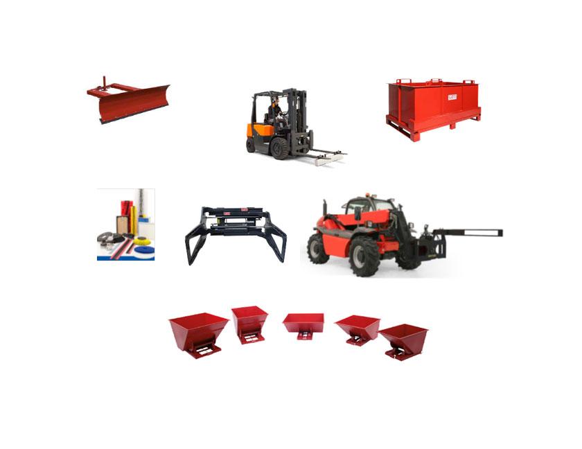 Priključci za viljuškare i skladišna oprema