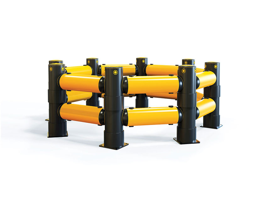 Atlas™ Polygon Traffic Barrier