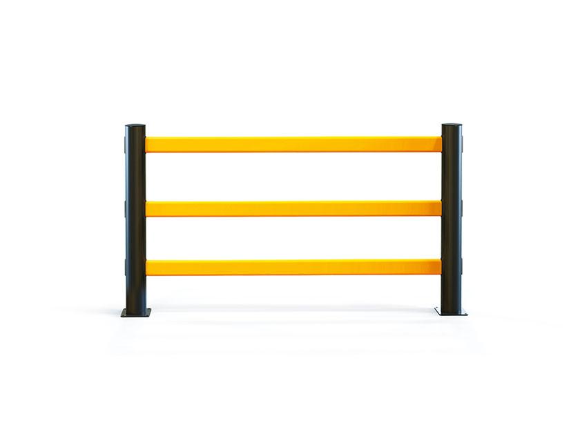 eFlex Pedestrian Barrier 3 Rail